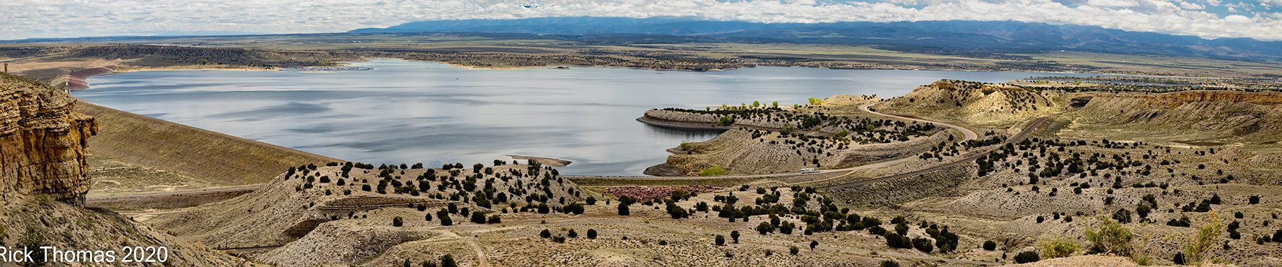 Pueblo Reservoir from Liberty Point